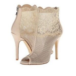Chinese Laundry Nude Lace heels